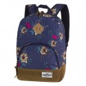 COOLPACK PLECAK CLASSIC BLUE DENIM FLOWERS