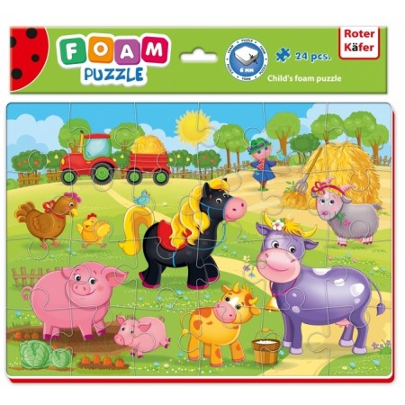 PUZZLE PIANKOWE A4 FARMA OD 3 LAT - ROTER KAFER