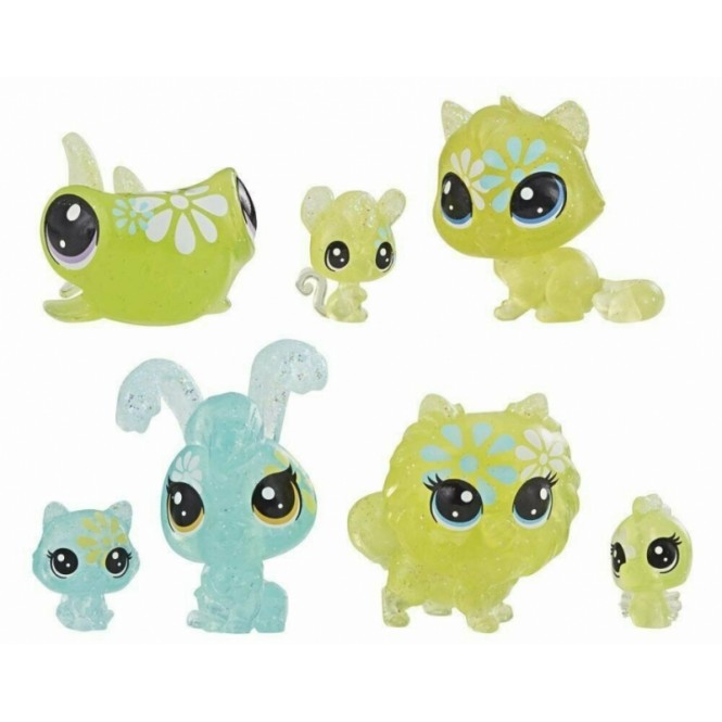LITTLEST PET SHOP STOKROTKOWE 7 FIGUREK LPS