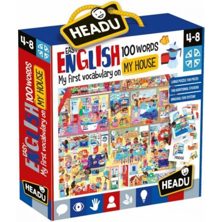 EASY ENGLISH 100 WORDS MY HOUSE HEADU